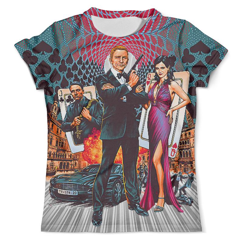 Футболка с полной запечаткой (мужская) Printio Casino royale (agent 007) футболка с полной запечаткой мужская printio clash royale