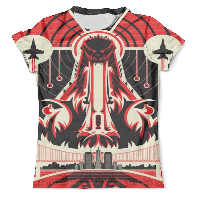 Футболка с полной запечаткой (мужская) Printio Godzilla футболка с полной запечаткой мужская printio overlord