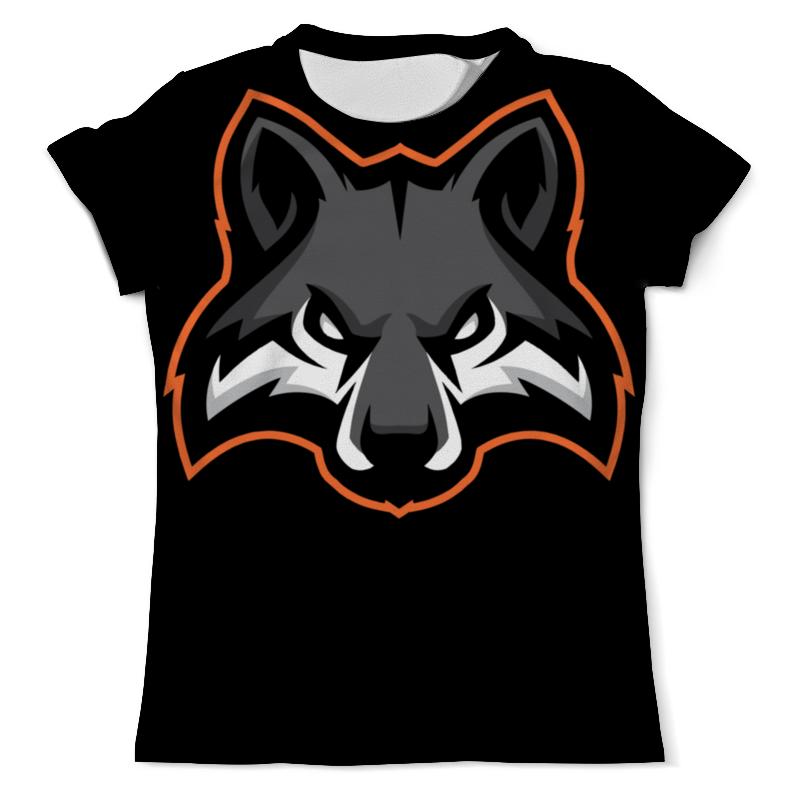 Футболка с полной запечаткой (мужская) Printio Wolf / волк футболка с полной запечаткой мужская printio mountain wolf