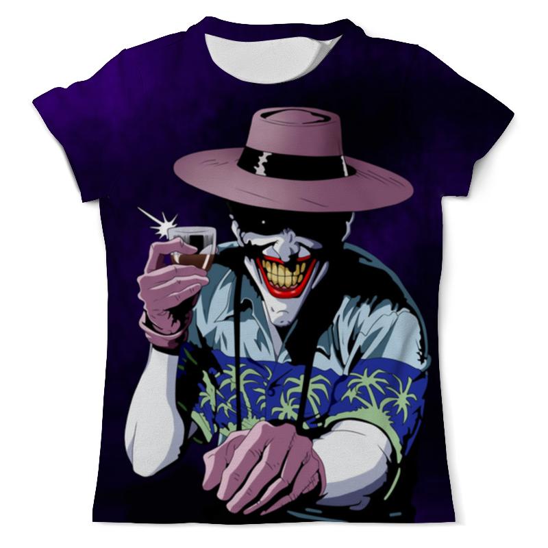 Футболка с полной запечаткой (мужская) Printio Here's to crime - the joker футболка с полной запечаткой мужская printio to the rats and wolves