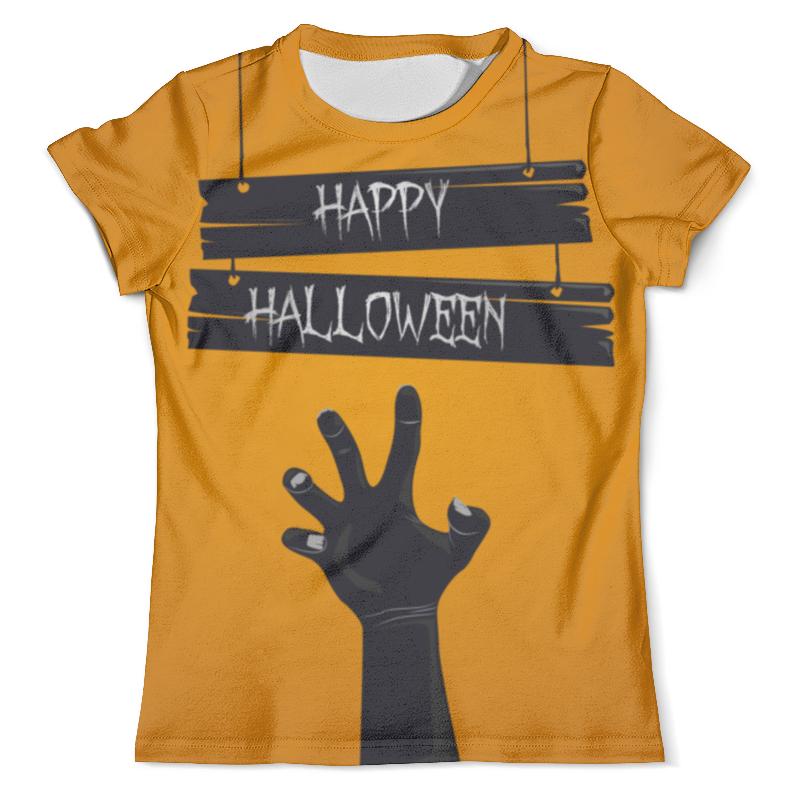 Футболка с полной запечаткой (мужская) Printio Happy halloween футболка с полной запечаткой мужская printio дефстроук ликвидатор