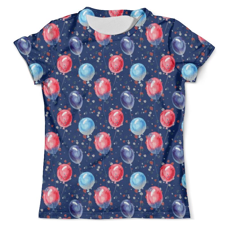 Футболка с полной запечаткой (мужская) Printio Воздушные шарики футболка с полной запечаткой женская printio воздушные шары