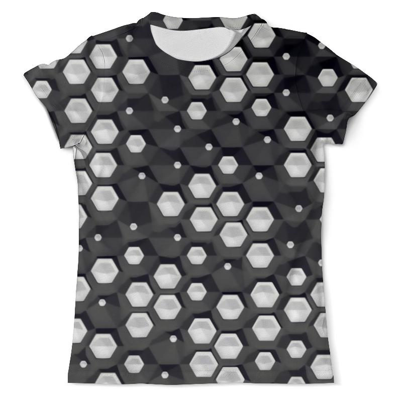 Printio Abstraction 3d футболка с полной запечаткой мужская printio тигр 3d