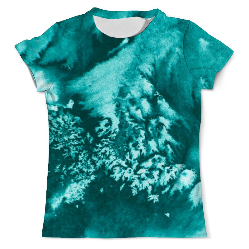 Printio Акварельная изморозь футболка с полной запечаткой мужская printio акварельная геометрия