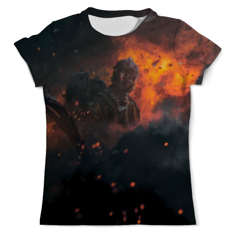 Футболка с полной запечаткой (мужская) Printio Солдаты апокалипсиса футболка с полной запечаткой мужская printio солдаты апокалипсиса