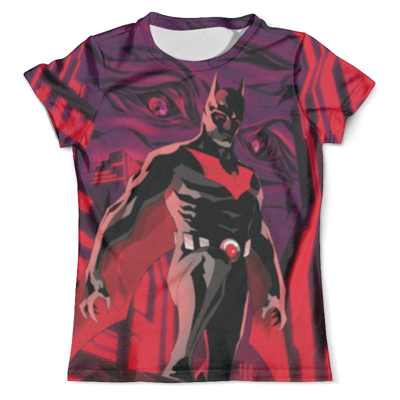 Футболка с полной запечаткой (мужская) Printio Batman beyond / бэтмен будущего футболка с полной запечаткой для девочек printio batman x joker бэтмен