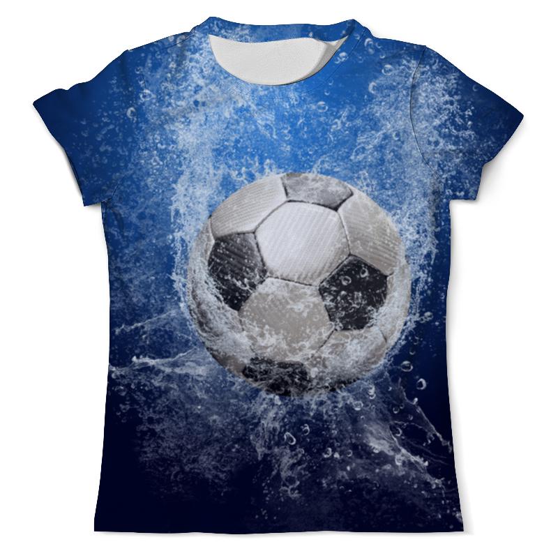 Футболка с полной запечаткой (мужская) Printio Сила футбола футболка для футбола