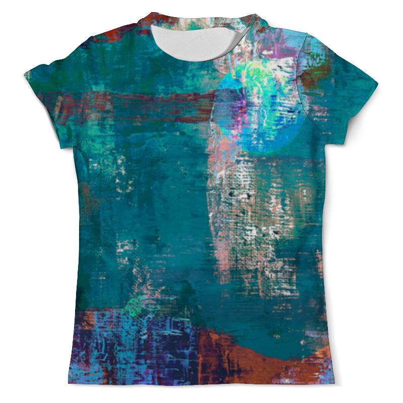 Футболка с полной запечаткой (мужская) Printio Абстрактная живопись футболка с полной запечаткой мужская printio абстрактная живопись