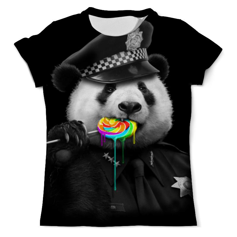 Футболка с полной запечаткой (мужская) Printio Панда коп свитшот унисекс с полной запечаткой printio панда коп