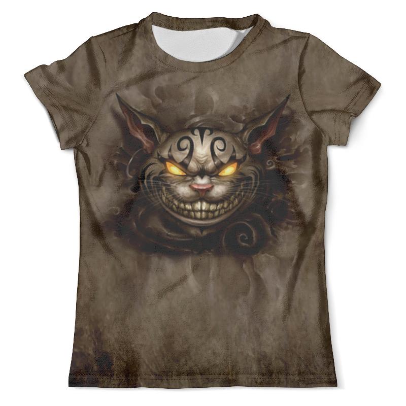 Футболка с полной запечаткой (мужская) Printio Чеширский кот футболка с полной запечаткой женская printio чеширский кот