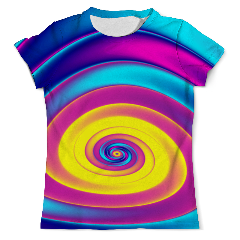 Футболка с полной запечаткой (мужская) Printio Радуга абстракт футболка с полной запечаткой мужская printio радуга цвета жизни