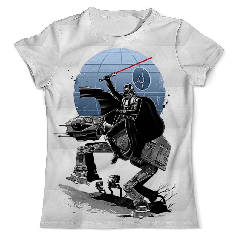 Футболка с полной запечаткой (мужская) Printio Darth vader design (star wars) футболка с полной запечаткой мужская printio darth vader design star wars