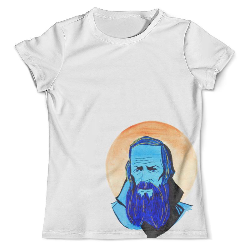 Футболка с полной запечаткой (мужская) Printio Достоевский футболка с полной запечаткой мужская printio yog