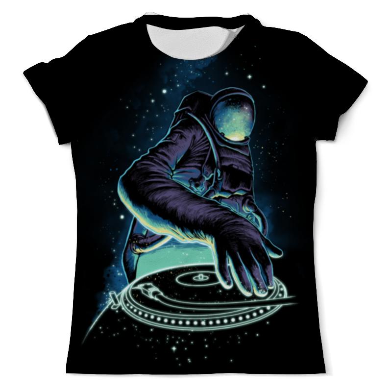 Printio Космический диджей футболка с полной запечаткой мужская printio космический экстрим