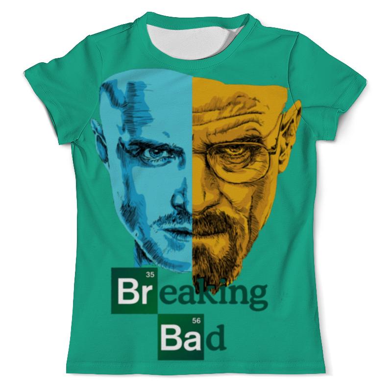 Футболка с полной запечаткой (мужская) Printio Breaking bad/во все тяжкие футболка с полной запечаткой мужская printio breaking bad во все тяжкие