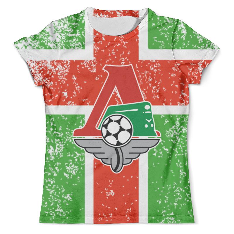 Футболка с полной запечаткой (мужская) Printio Локомотив design (москва) футболка с полной запечаткой мужская printio ananas design