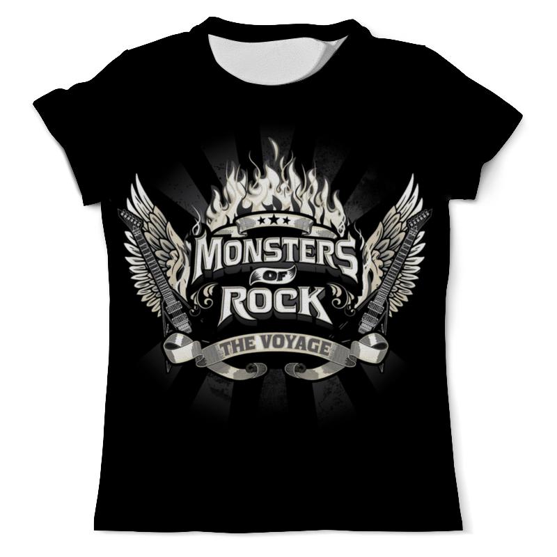 Футболка с полной запечаткой (мужская) Printio Monsters of rock футболка с полной запечаткой мужская printio корпорация монстров monsters inc