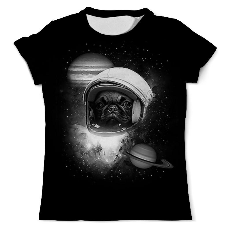 Printio Собачка в космосе (1) футболка с полной запечаткой мужская printio собачка 1