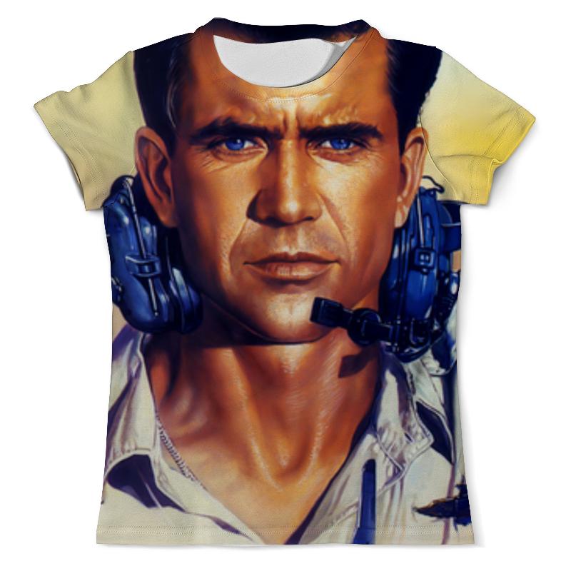 Футболка с полной запечаткой (мужская) Printio мэл гибсон (эйр америка) футболка с полной запечаткой для девочек printio мэл гибсон эйр америка