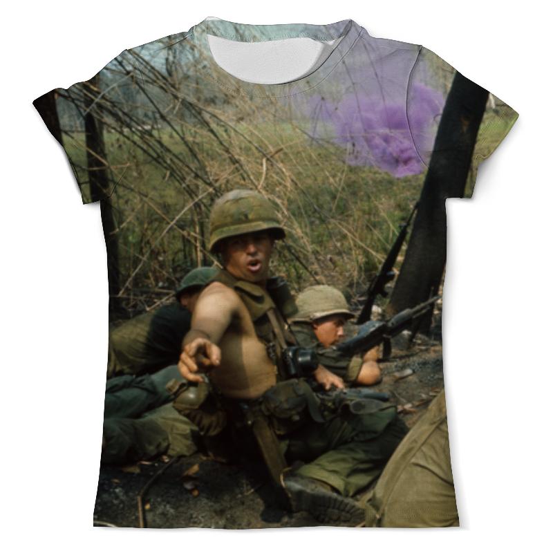 Футболка с полной запечаткой (мужская) Printio Вьетнамская война цена