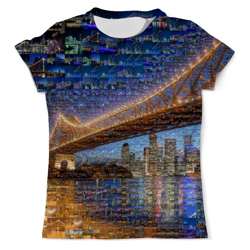 Футболка с полной запечаткой (мужская) Printio Брисбен город футболка с полной запечаткой мужская printio осень город такси тоска