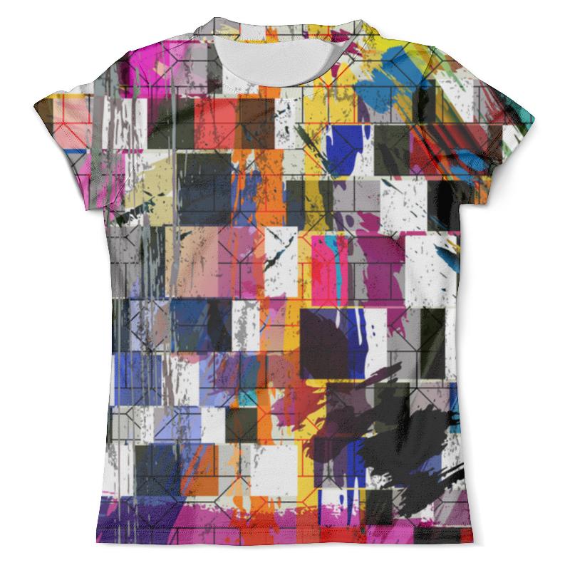 Футболка с полной запечаткой (мужская) Printio Abstract geometric design delicate noctilucence hollow out geometric shape pendant necklace