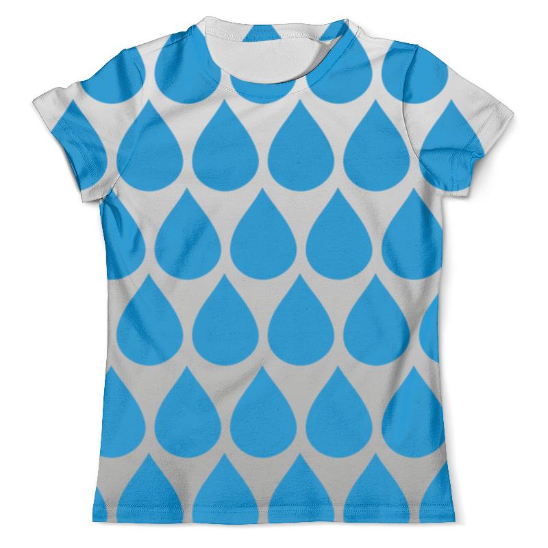 Футболка с полной запечаткой (мужская) Printio Дождь с туманом футболка с полной запечаткой мужская printio battlefield v