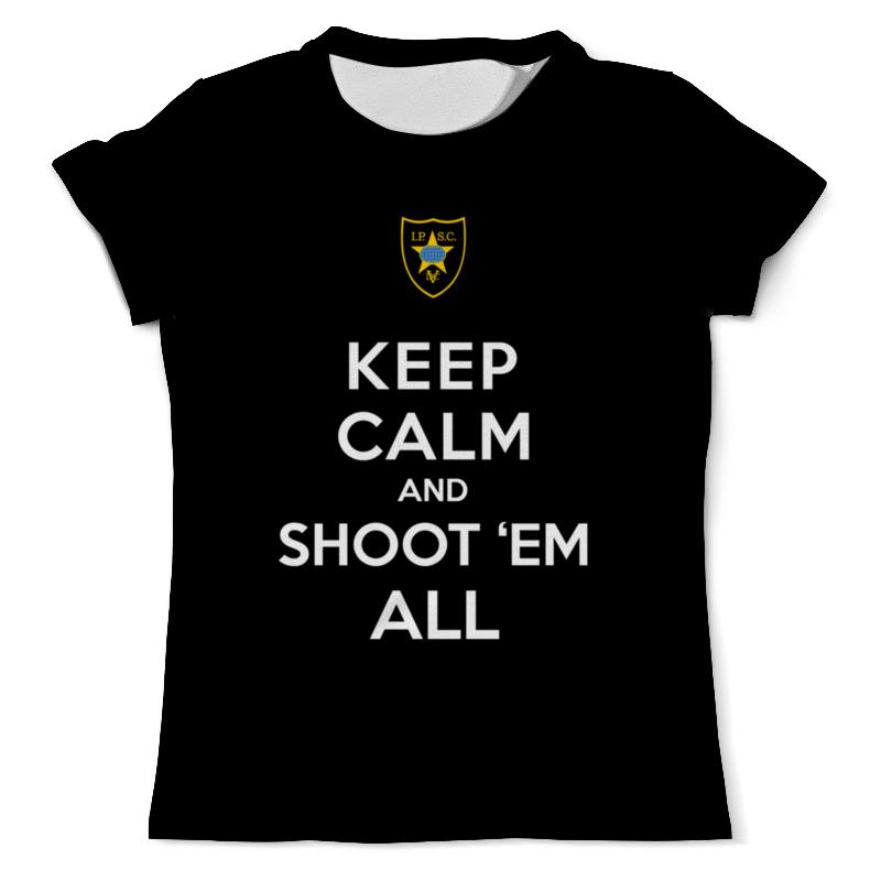 Printio Shoot 'em all футболка с полной запечаткой мужская printio all that remains