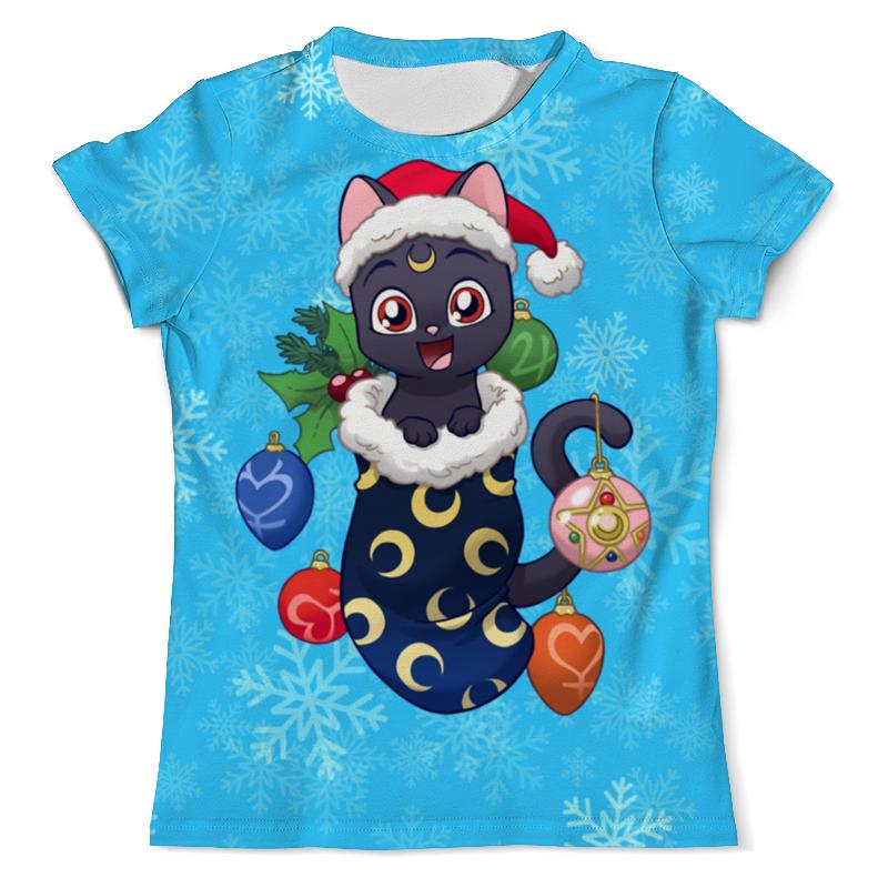 Printio Котик новогодний футболка с полной запечаткой для мальчиков printio котик новогодний