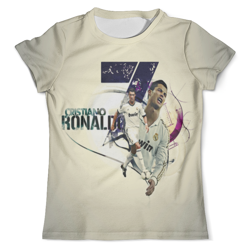 Футболка с полной запечаткой (мужская) Printio Cristiano ronaldo (1) футболка классическая printio cristiano ronaldo