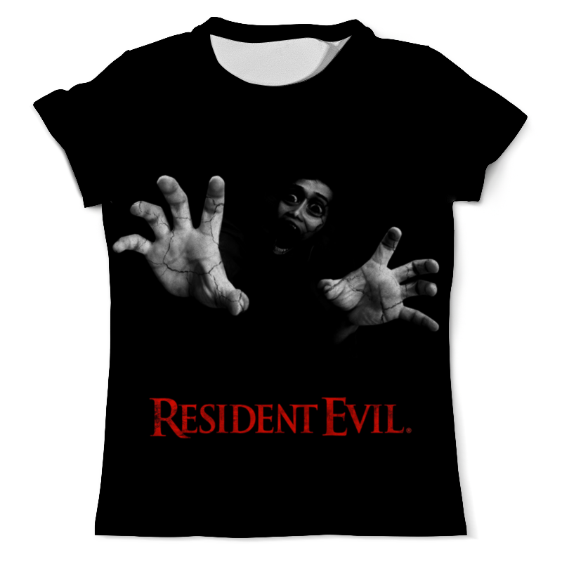 Футболка с полной запечаткой (мужская) Printio Resident evil армейский жетон resident evil f090 albert wesker id pvc