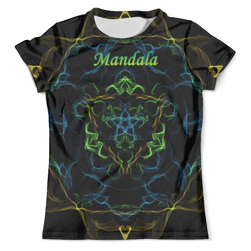Футболка с полной запечаткой (мужская) Printio Мандала. футболка с полной запечаткой мужская printio фрактальная эзотерика мандалы