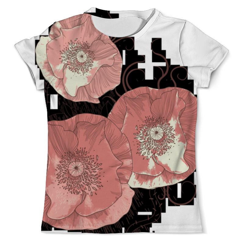 Футболка с полной запечаткой (мужская) Printio Цветение мака футболка с полной запечаткой женская printio цветение лета