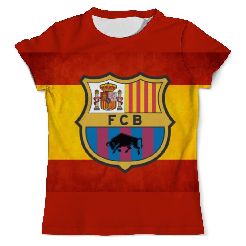 Футболка с полной запечаткой (мужская) Printio Fc barcelona fc barcelona lassa maccabi tel aviv