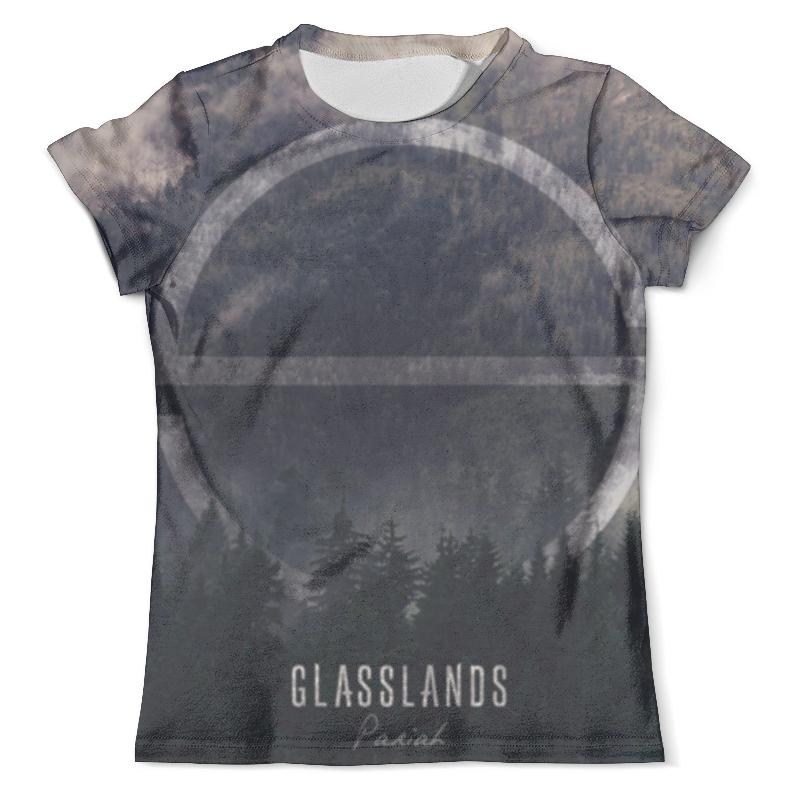 Футболка с полной запечаткой (мужская) Printio Glasslands футболка с полной запечаткой мужская printio дефстроук ликвидатор