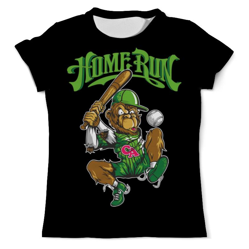 Printio Спортивная обезьянка футболка с полной запечаткой женская printio спортивная обувь