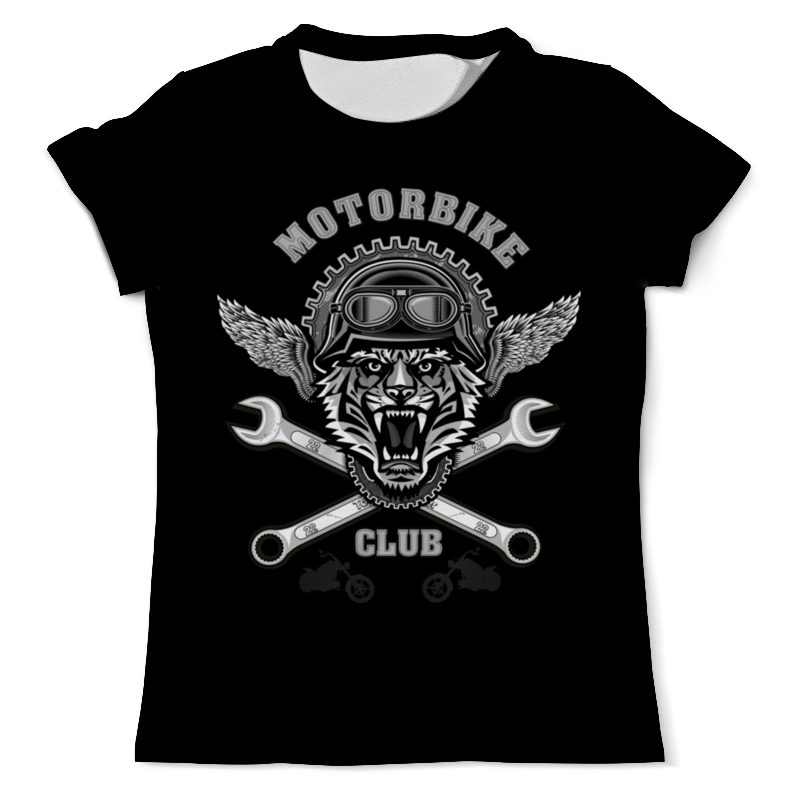 Printio Байкер футболка для байкера