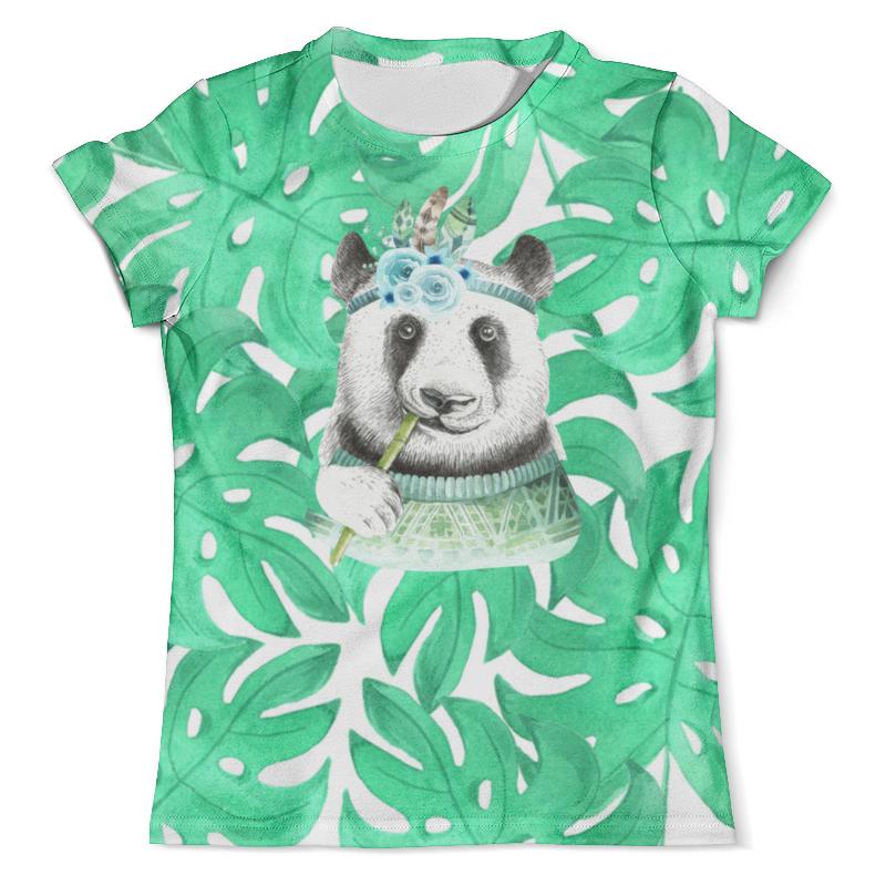 Футболка с полной запечаткой (мужская) Printio Панда в листве футболка с полной запечаткой мужская printio панда