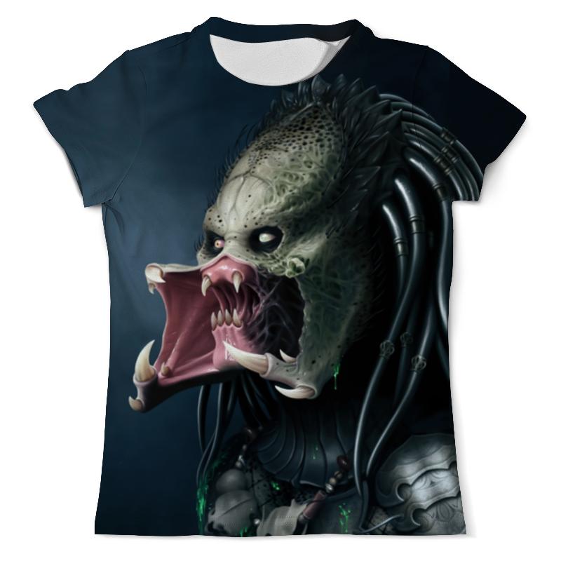 Футболка с полной запечаткой (мужская) Printio Predator design футболка с полной запечаткой мужская printio хищники predator