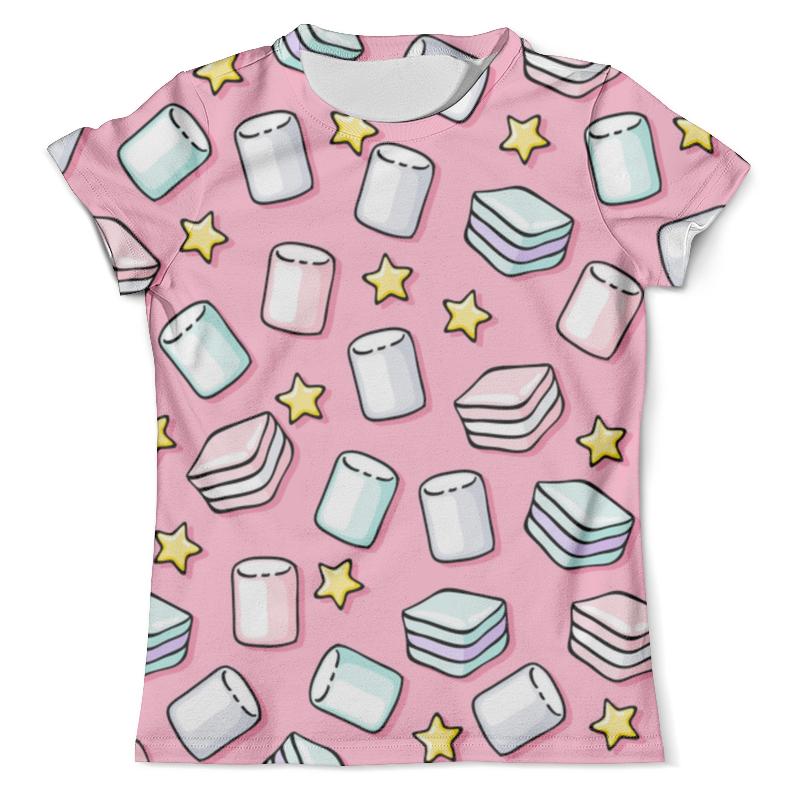 Футболка с полной запечаткой (мужская) Printio Зефир футболка с полной запечаткой для девочек printio воздушный зефир