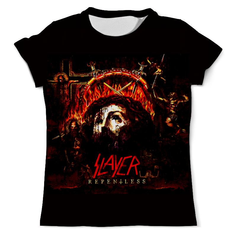 Футболка с полной запечаткой (мужская) Printio Slayer repentless 2015 (2) футболка с полной запечаткой мужская printio slayer repentless 2015 3