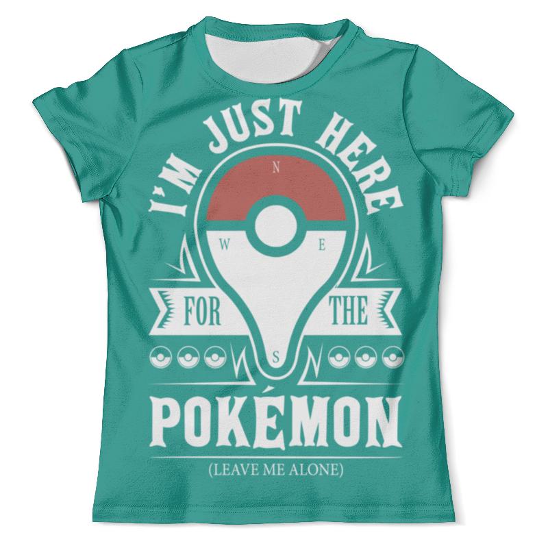Футболка с полной запечаткой (мужская) Printio Pokemon go футболка с полной запечаткой мужская printio фрактальная эзотерика мандалы
