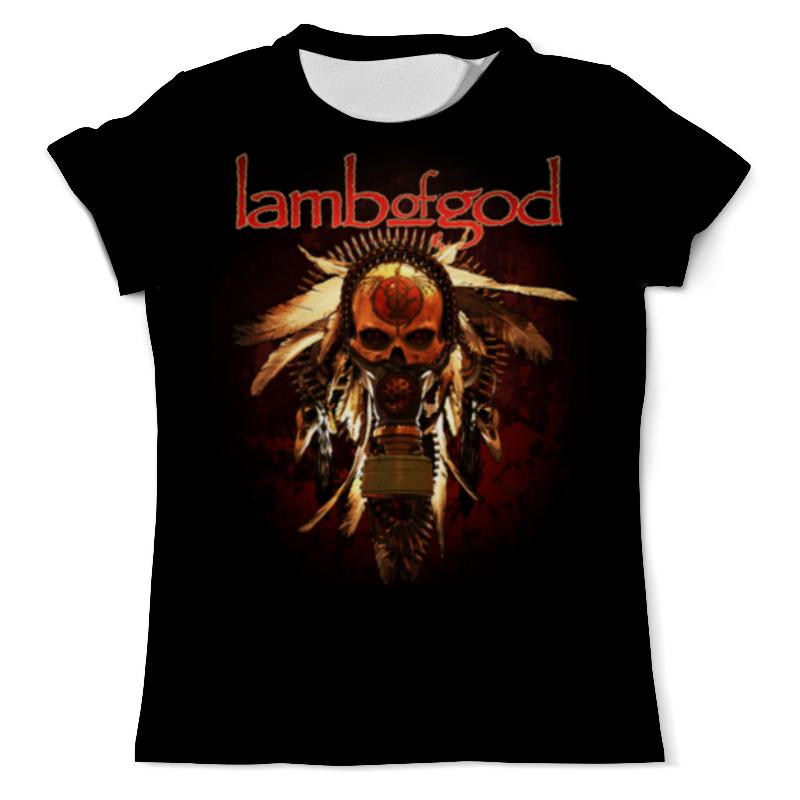 Футболка с полной запечаткой (мужская) Printio Lamb of god цены онлайн