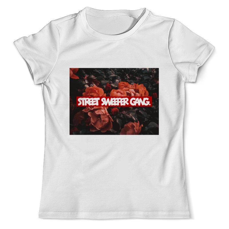 Футболка с полной запечаткой (мужская) Printio Red rose от ssg! женские сапоги red cherry rose people hyt2213