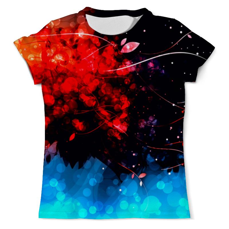 Printio Сине-красные краски футболка с полной запечаткой мужская printio красные краски