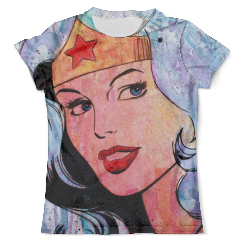 Футболка с полной запечаткой (мужская) Printio Чудо-женщина (wonder woman) футболка с полной запечаткой женская printio чудо женщина wonder woman