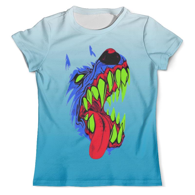 Футболка с полной запечаткой (мужская) Printio Злобный пес футболка с полной запечаткой для девочек printio хипстер пес