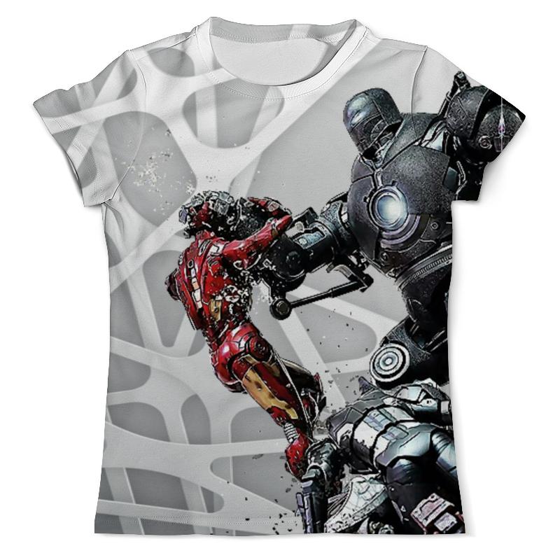 Футболка с полной запечаткой (мужская) Printio Iron man design футболка с полной запечаткой мужская printio iron putin design