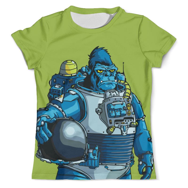 Printio Космическая горилла футболка с полной запечаткой мужская printio космическая пыль