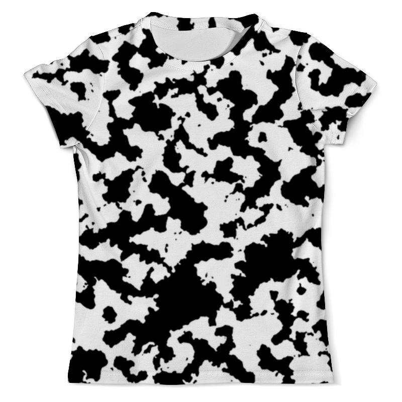 Футболка с полной запечаткой (мужская) Printio Чёрно-белый камуфляж футболка с полной запечаткой мужская printio русь чёрно белая душа